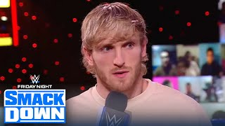 Logan Paul debuts on SmackDown as Sami Zayn's guest of honor | FRIDAY NIGHT SMACKDOWN