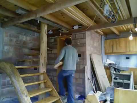 Escalera Rustica - YouTube