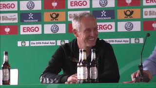 12.08.2017, Pressekonferenz  DFB Pokal, VfB G.Halberstadt - SC Freiburg 1:2