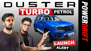 Launch Alert | 2020 Renault Duster Turbo | PowerDrift