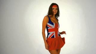Английская Девочка - игровой костюм