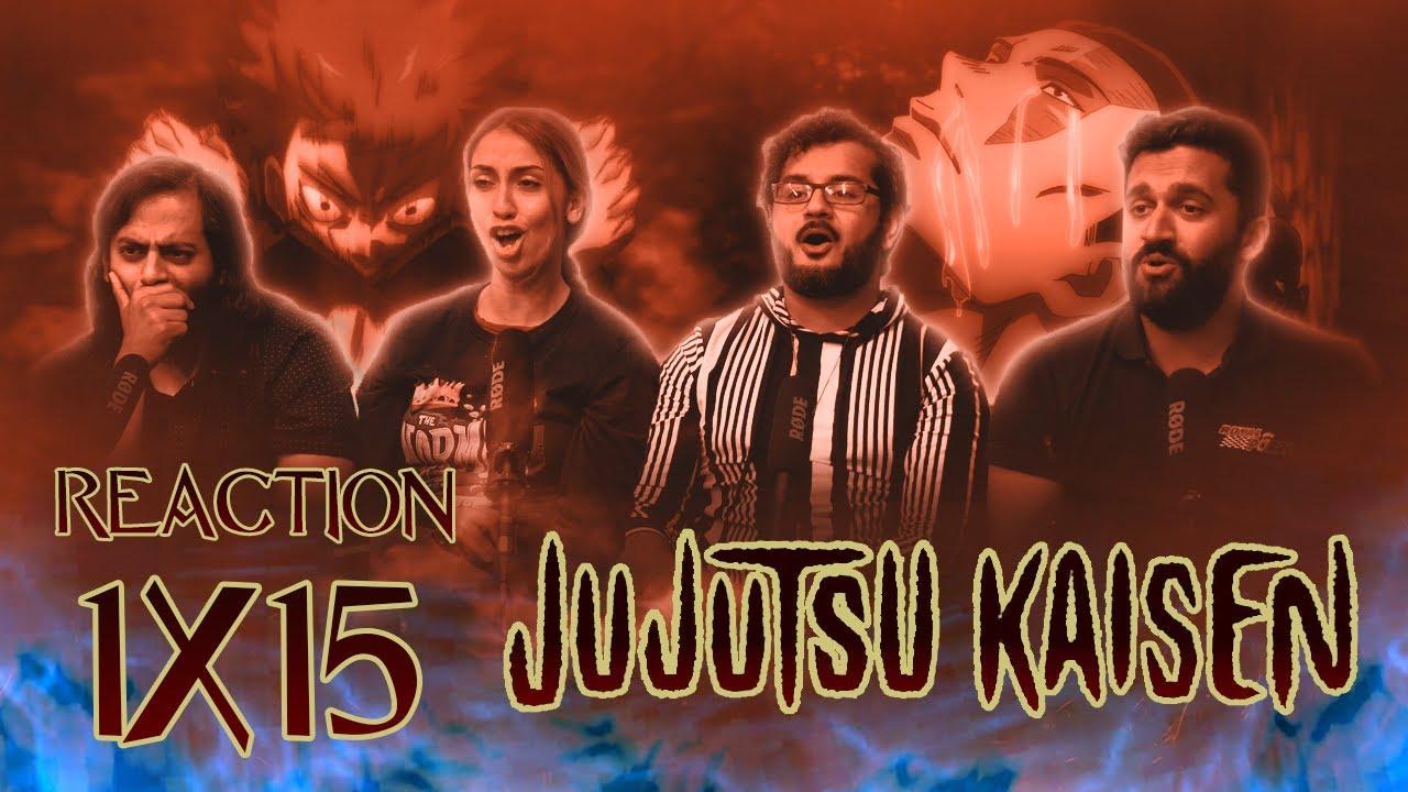 Download Jujutsu Kaisen - 1x15 Kyoto Sister School Goodwill Event - Team Battle, Part 1 - Group Reaction