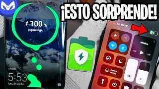 Huawei Mate 20 Pro Vs iPhone Xs Max BATERIA - HUMILLACION TOTAL