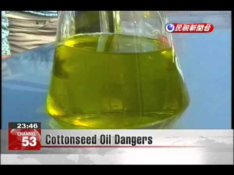 Cottonseed Oil Dangers