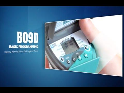 Dig BO9DB Hose-End Timer