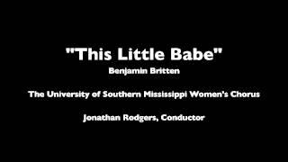 This Little Babe - Benjamin Britten