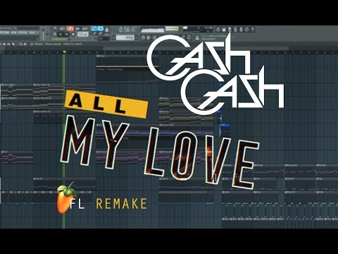 Cash Cash - All My Love (feat. Conor Maynard) | Instrumental remake | +FLP