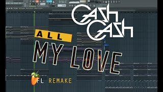 Video Cash Cash - All My Love (feat. Conor Maynard) | Instrumental remake | +FLP download MP3, 3GP, MP4, WEBM, AVI, FLV Januari 2018
