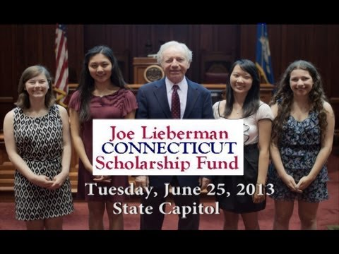 The 2014 Joe Lieberman Connecticut Scholarship Fund is open for student applications.