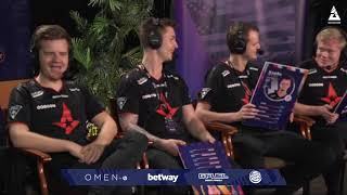 Astralis Reveal Their Dark Horse For The Event | BLAST Backstage - BLAST Pro Series Miami