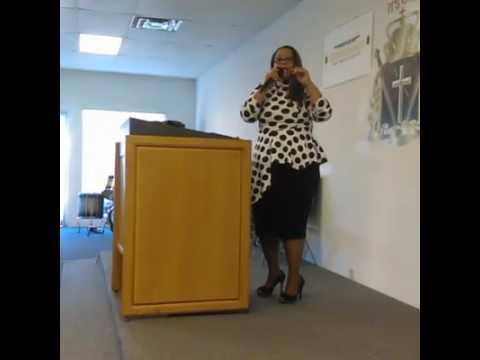 Apostle Fran Preaching in Tampa, Fla