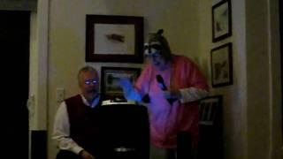 Grandma and Lance Sing Karaoke.AVI