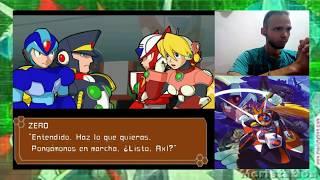 Megaman X7 - Parte 5 - Flame Hyenard y Hot wheels Dañado - Lord0fD