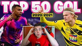 😱 REAZIONE ai MIGLIORI GOAL STAGIONE 2020/2021 ⚽