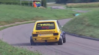 Fastest crazy VW Golf 1, Always at (over?) the limit! Driven by Daniel Wittwer
