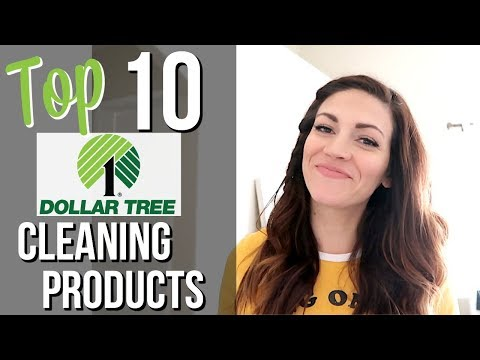TOP 10 DOLLAR TREE CLEANING PRODUCTS // Dollar Tree Favorites