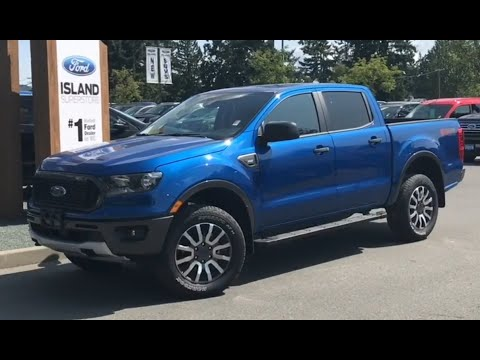 2019 Ford Ranger XLT 302A 2.3L SuperCrew Review| Island Ford