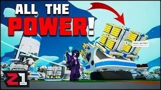 Tractor RESCUE MISSION, Activating the Core and BATTERIES! Astroneer 1.0 Ep.14 | Z1 Gaming