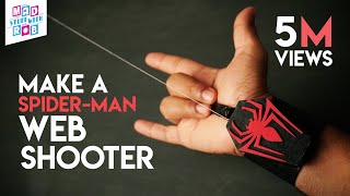 Make a SPIDER-MAN WEB SHOOTER at home | In Hindi | Marvel Fan