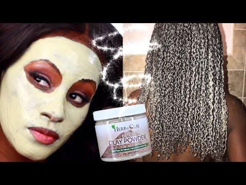 How we keep our Skin & Hair Slayed! Herb n' Clay Detox CLAY POWDER   Shlinda1