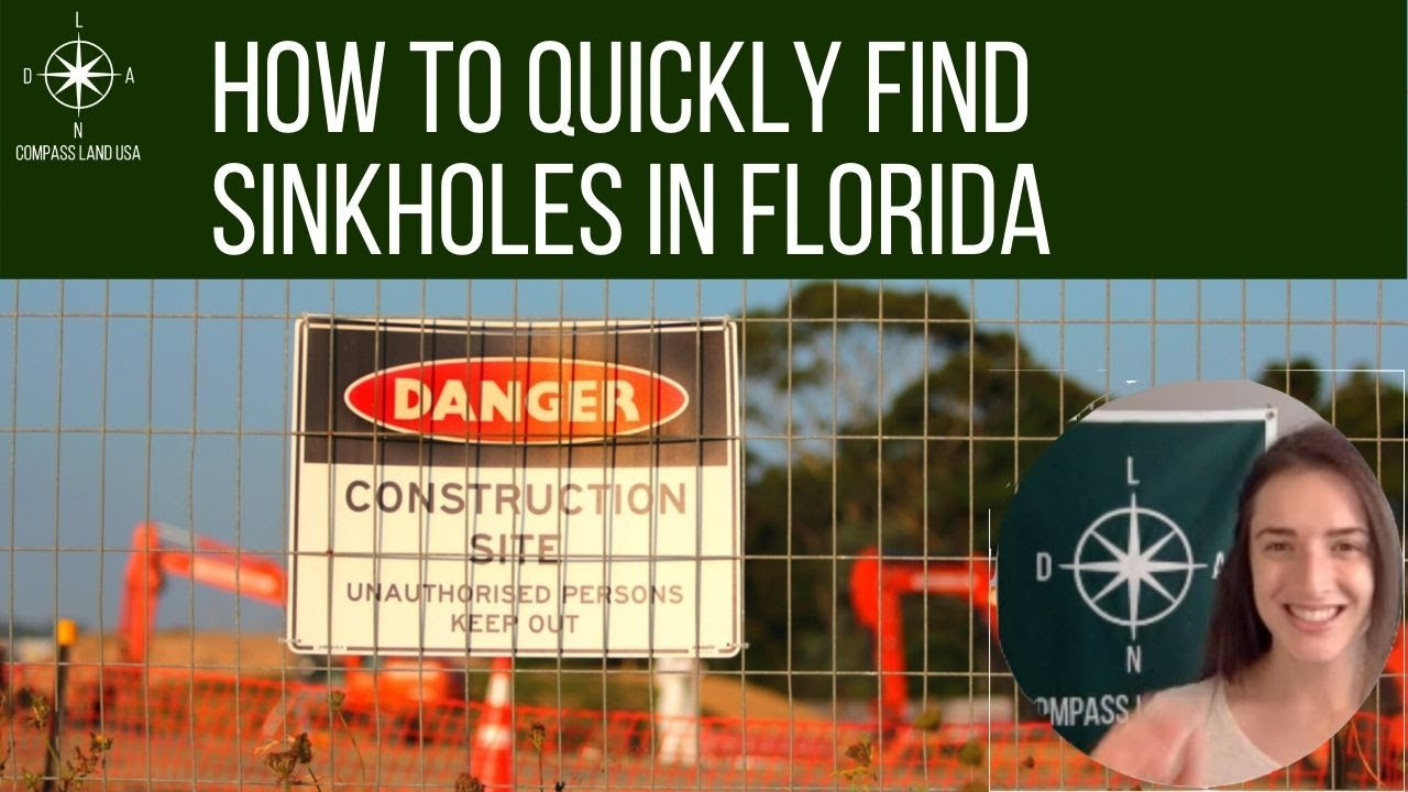 How to Quickly Find Sinkholes in Florida