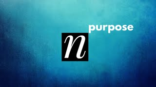 Purpose Series: You Are Named!