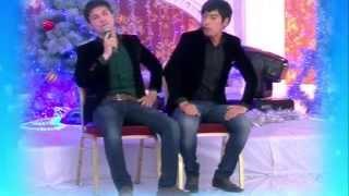 Худжандская лига КВН - Новогоднее выступление на канале Азия 2014