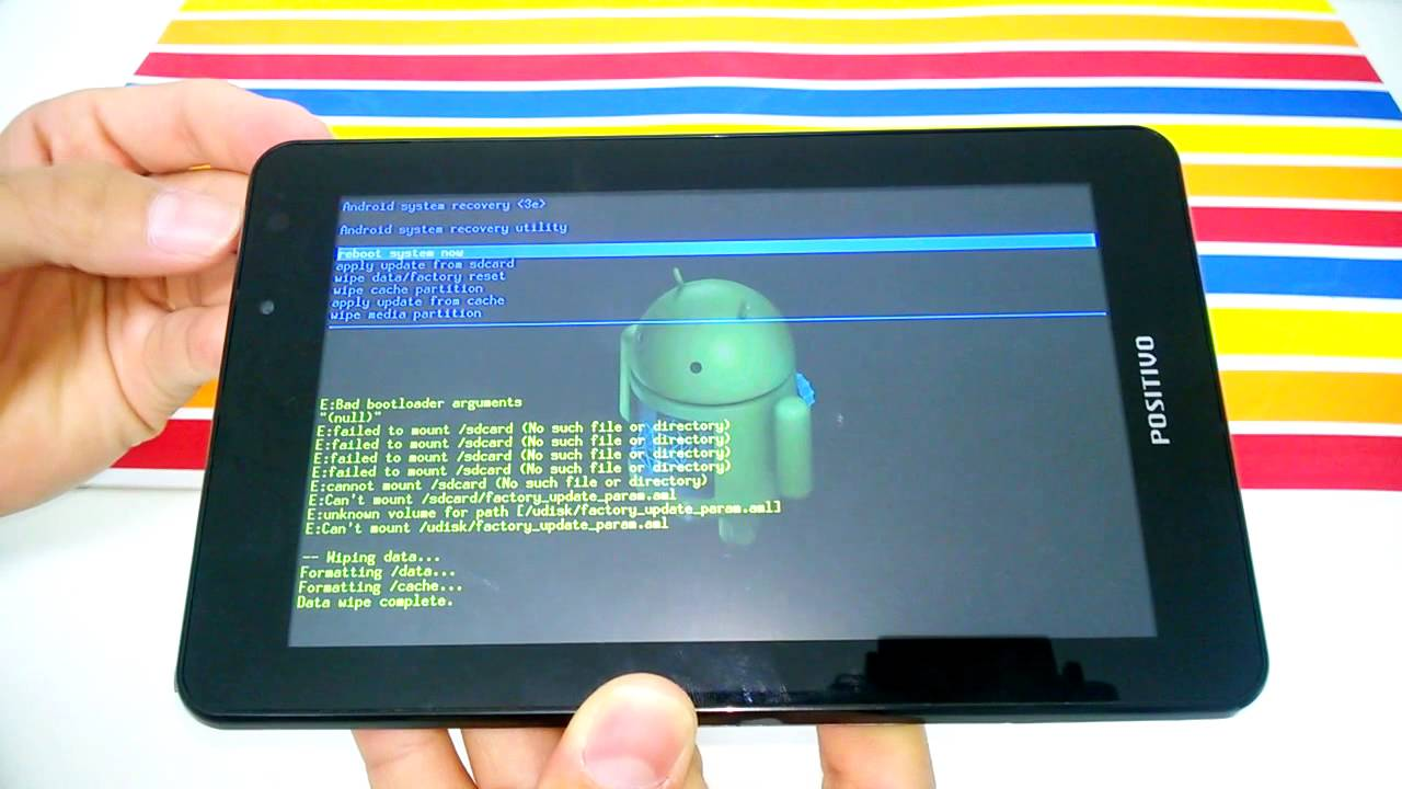 tablet positivo bgh ypy tq7 manual