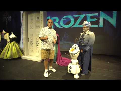 Check out FROZEN - A Musical Spectacular with Joe Causi aboard the All New Disney Wonder!
