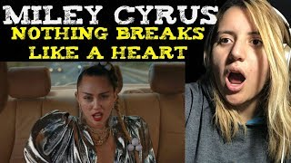 Mark Ronson ft Miley Cyrus - Nothing Breaks Like A Heart (Official Music Video) Reaction Video