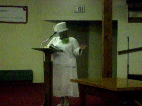 Women's Day Speaker Mother Sandra Jones 8/2/09 Par...