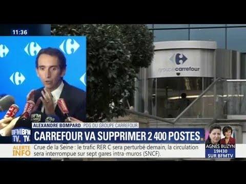 Le PDG de Carrefour annonce la fermeture de 273 magasins Dia