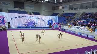 Небеса-Созвездие 10-12, ВС Юные гимнастки, г.Раменское 19.04. 2019
