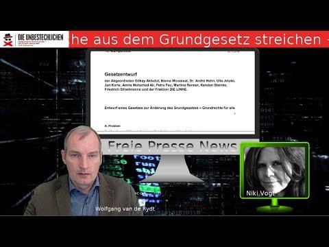 Freie Presse News: Linke will Deutsche aus dem Grundgesetz streichen und Abtreibung bis zur Geburt