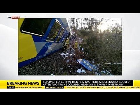 \'Several Killed\' In German Train Crash