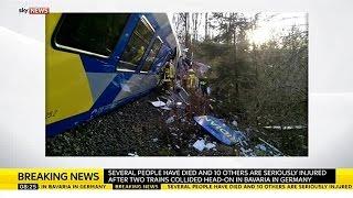 Several Killed In German Train Crash