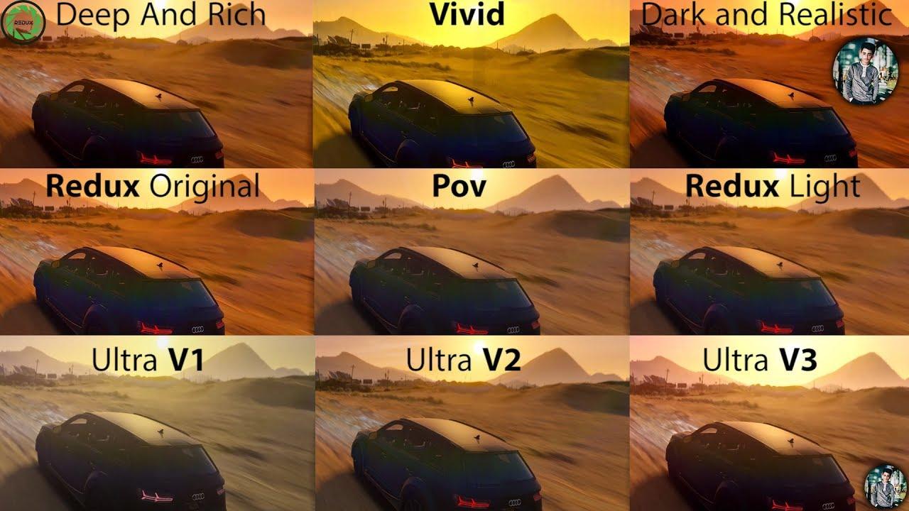 ReShade Filters - GTA 5 Redux