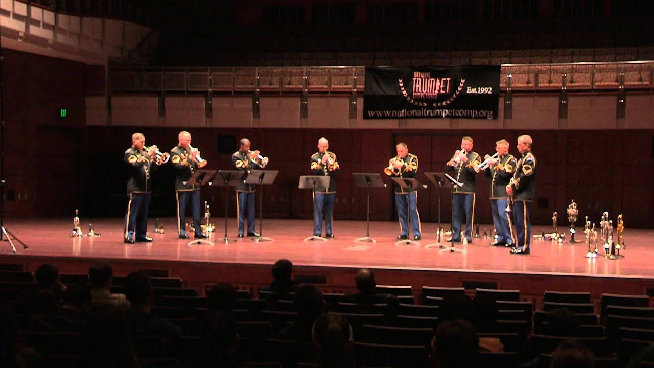 Army Band Trumpet Ensemble - O Magnum Mysterium