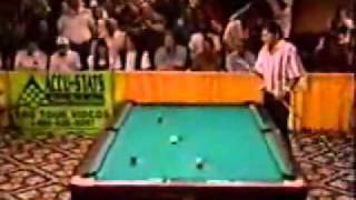 "Incredible Pool Shot Ever from Efren ""The Magician"" Reyes!"