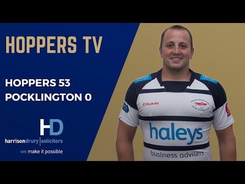 Hoppers vs Pocklington Highlights