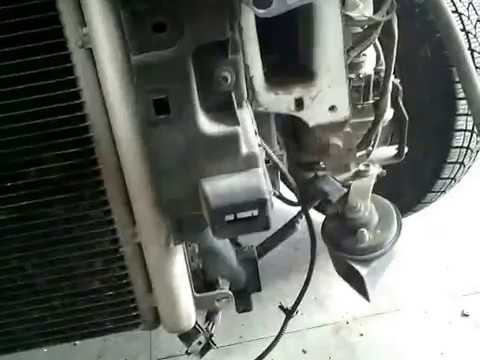 SKODA FABIA 2 HOW TO REMOVE COOLANT RADIATOR