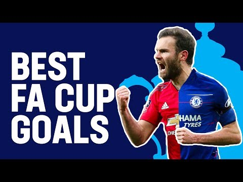 Mata, Matic & Lukaku Best FA Cup Goals for Chelsea and Manchester United   Emirates FA Cup 18/19