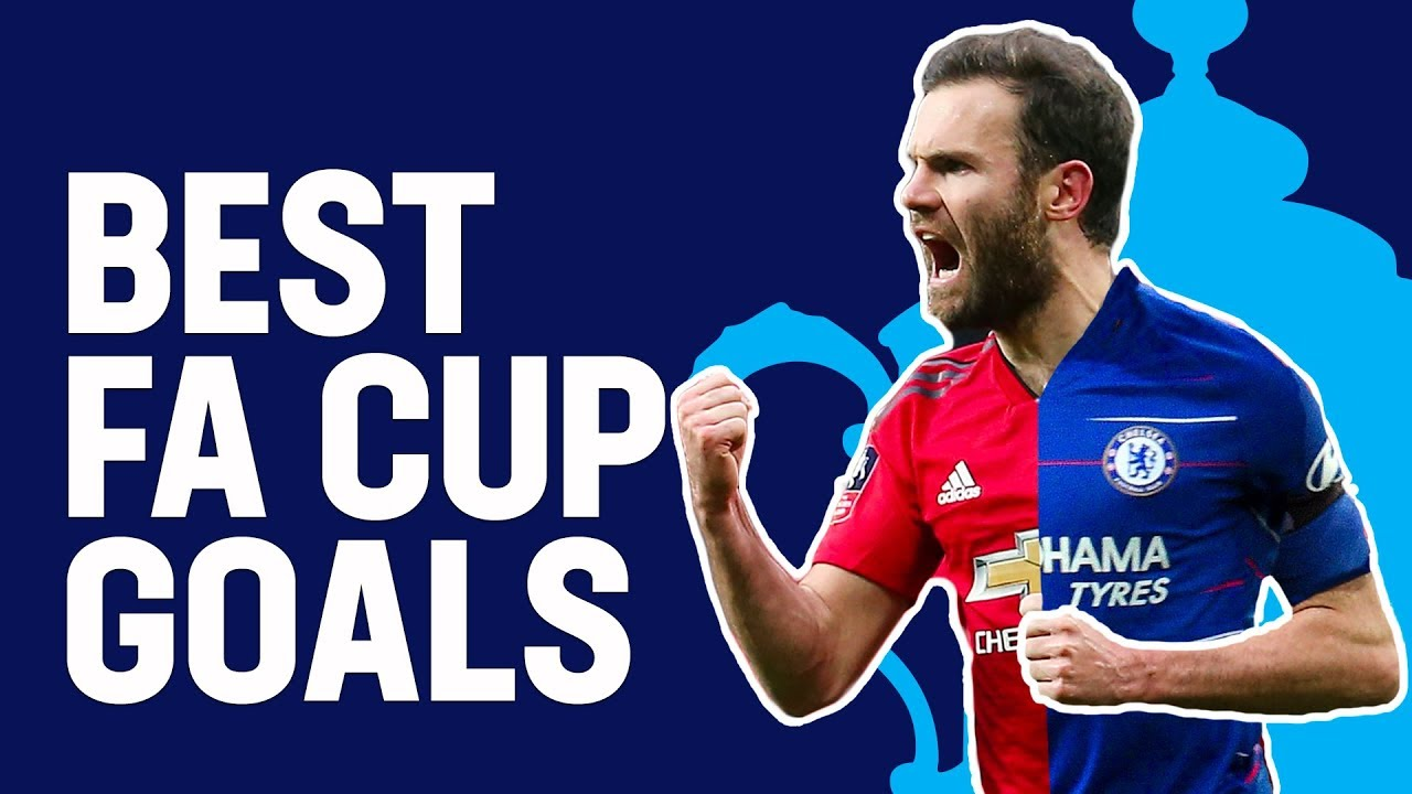 Mata, Matic & Lukaku Best FA Cup Goals for Chelsea and Manchester United | Emirates FA Cup 18/19