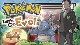 POKEMON LET'S GO EVOLI 🌏 #44: Mega-Entwicklungen & Kampf gegen Giovanni um den Erdorden