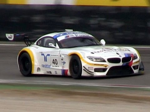 BMW Z4 GT3 PURE SOUND - Accelerations, Backfires & More!!