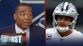 Nick and Cris react to Jerry Jones giving Dak Prescott an extension | NFL | FIRST THINGS FIRST