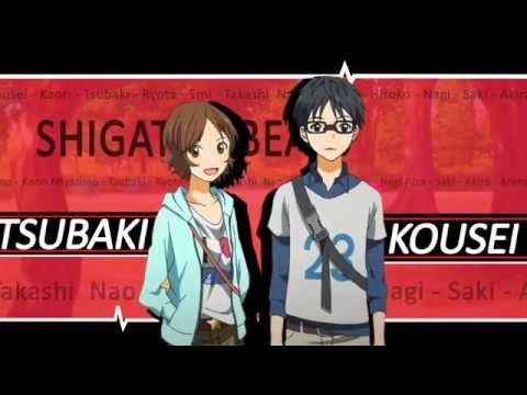 【MAD】Shigatsu Wa Kimi no Uso x Angel Beats op 2