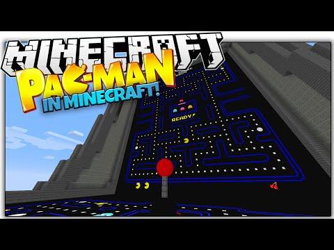 PAC MAN IN VANILLA MINECRAFT! | Working Joystick, Highscores & More! (Minecraft Redstone)