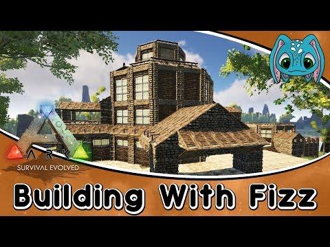 ARK:Survival Evolved Building w/ Fizz :: PVE Base Build Idea (No MODS)
