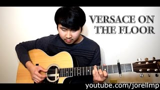 Bruno Mars - Versace on The Floor (Fingerstyle cover by Jorell) INSTRUMENTAL | KARAOKE WITH LYRICS
